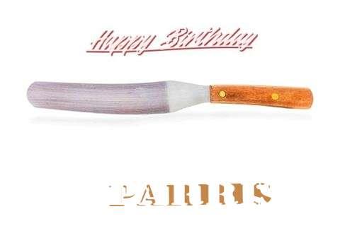 Parris Birthday Celebration