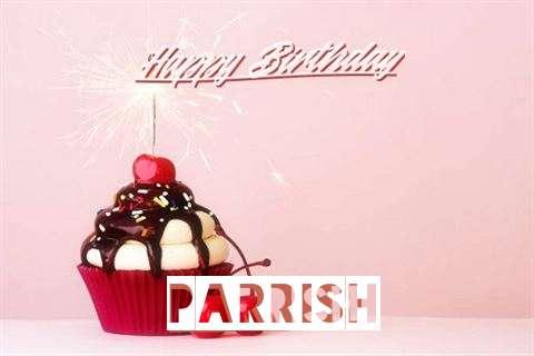 Happy Birthday Parrish