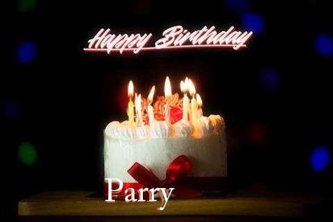 Happy Birthday Cake for Parry
