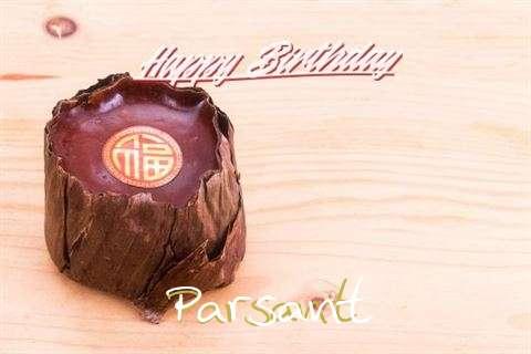 Happy Birthday Cake for Parsant