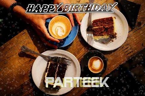 Happy Birthday to You Parteek