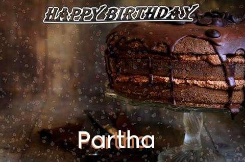 Happy Birthday Cake for Partha