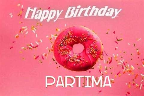 Happy Birthday Cake for Partima
