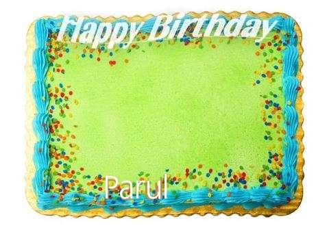Happy Birthday Parul Cake Image
