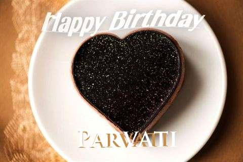 Happy Birthday Parvati Cake Image