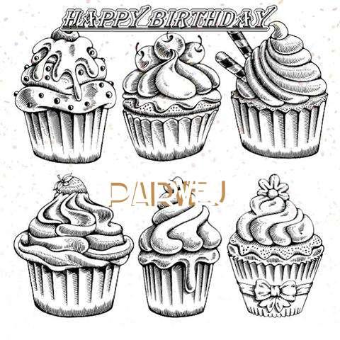Happy Birthday Cake for Parvej