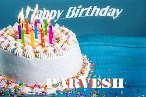 Happy Birthday Wishes for Parvesh