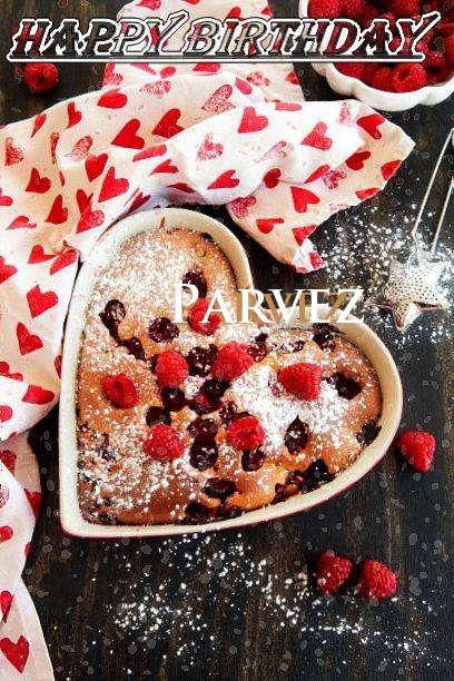 Happy Birthday Parvez Cake Image