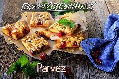 Happy Birthday Cake for Parvez