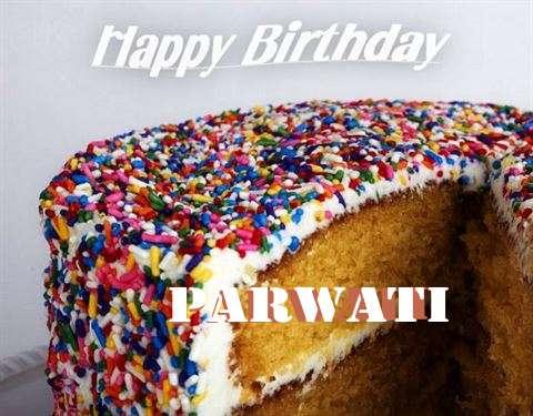 Happy Birthday Wishes for Parwati