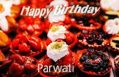 Happy Birthday Cake for Parwati