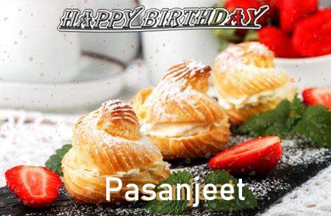 Happy Birthday Pasanjeet Cake Image