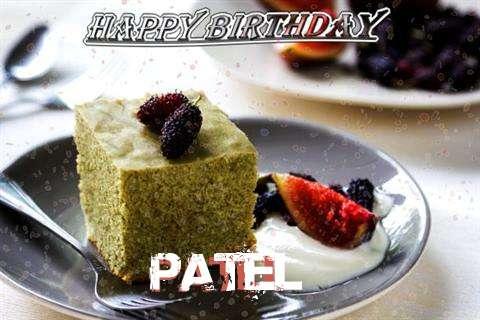 Happy Birthday Patel Cake Image