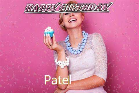 Happy Birthday Wishes for Patel