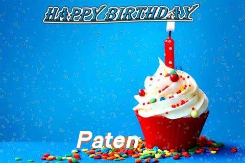 Happy Birthday Wishes for Paten