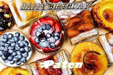 Happy Birthday to You Paten