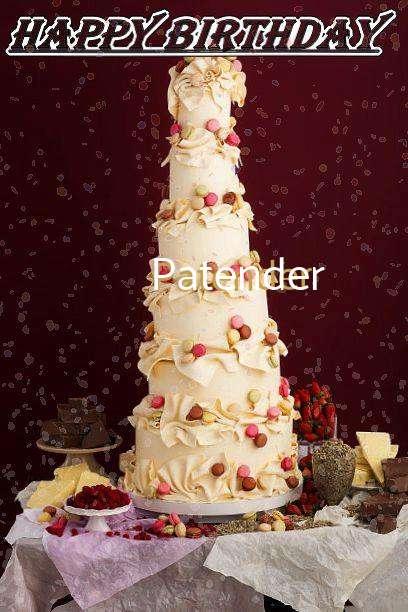 Happy Birthday Patender
