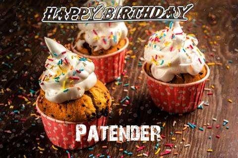 Happy Birthday Patender Cake Image