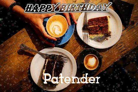 Happy Birthday to You Patender