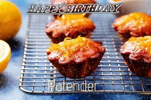 Happy Birthday Cake for Patender
