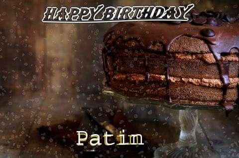 Happy Birthday Cake for Patin