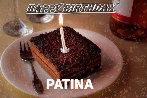 Happy Birthday Patina