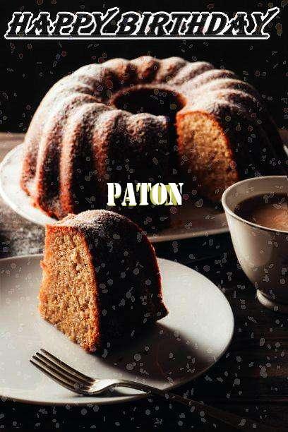 Happy Birthday Paton
