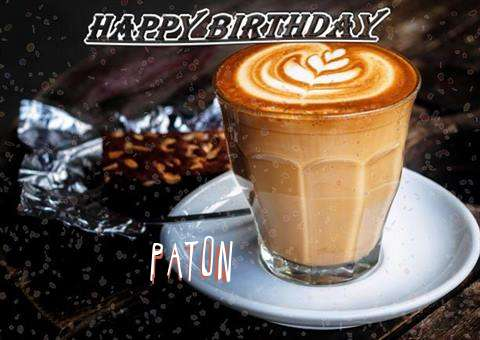 Happy Birthday to You Paton
