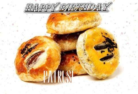 Happy Birthday to You Patrese