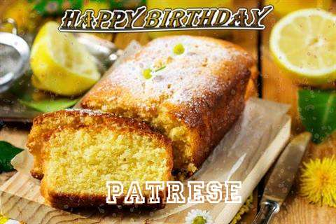 Happy Birthday Cake for Patrese