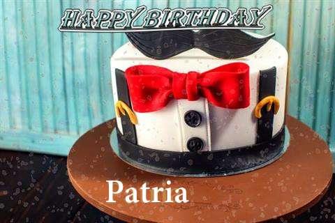 Happy Birthday Cake for Patria