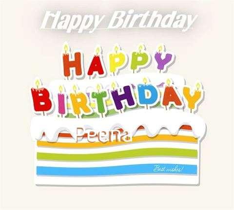 Happy Birthday Wishes for Peena
