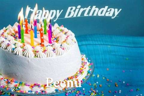 Happy Birthday Wishes for Peenu