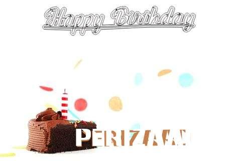 Happy Birthday Cake for Perizaad