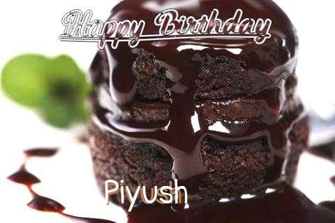 Birthday Wishes with Images of Piyush