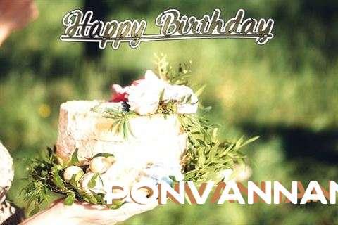 Birthday Images for Ponvannan