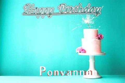Wish Ponvannan