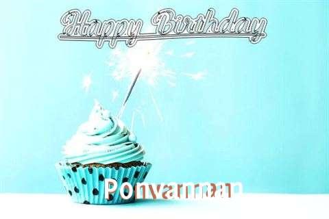 Happy Birthday Cake for Ponvannan
