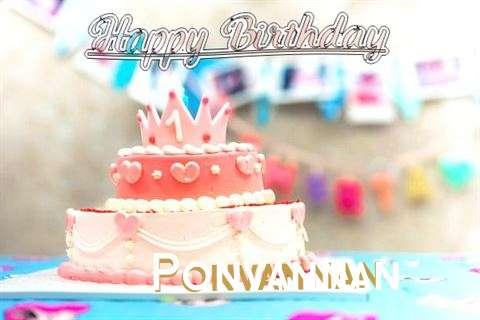 Ponvannan Cakes