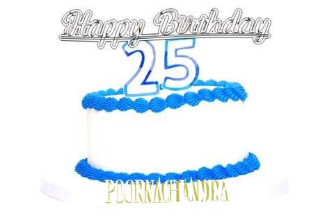 Happy Birthday Poornachandra Cake Image