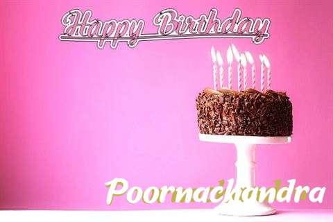 Happy Birthday Cake for Poornachandra
