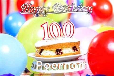Happy Birthday Poornam