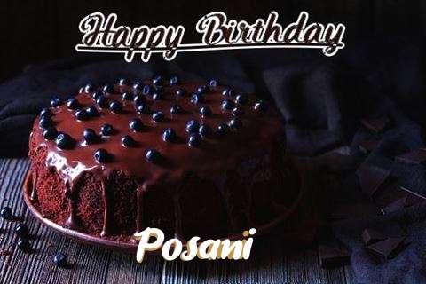 Happy Birthday Cake for Posani