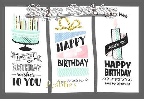 Happy Birthday to You Prabhas