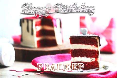 Happy Birthday Wishes for Pradeep