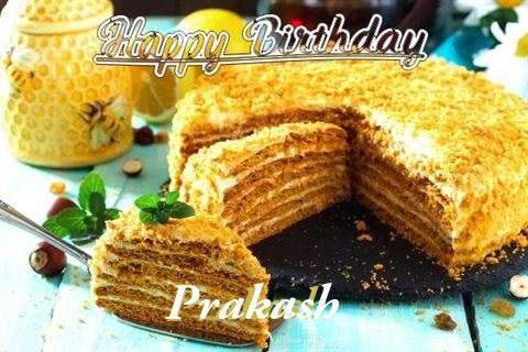 Birthday Wishes with Images of Prakash