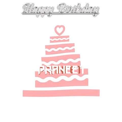 Happy Birthday Praneet Cake Image