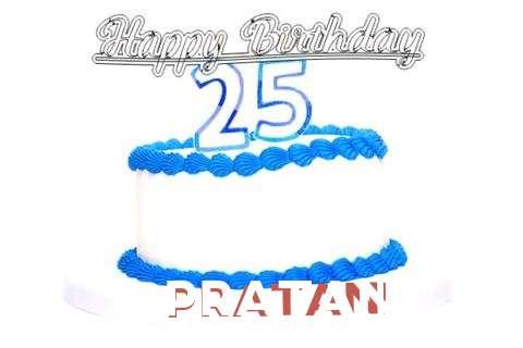 Happy Birthday Pratani Cake Image