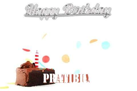 Happy Birthday Cake for Pratibha