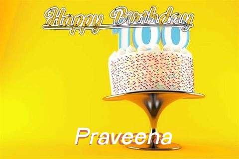Happy Birthday Wishes for Praveena